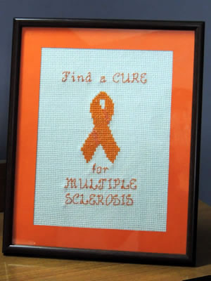 MS cross stitch ribbon